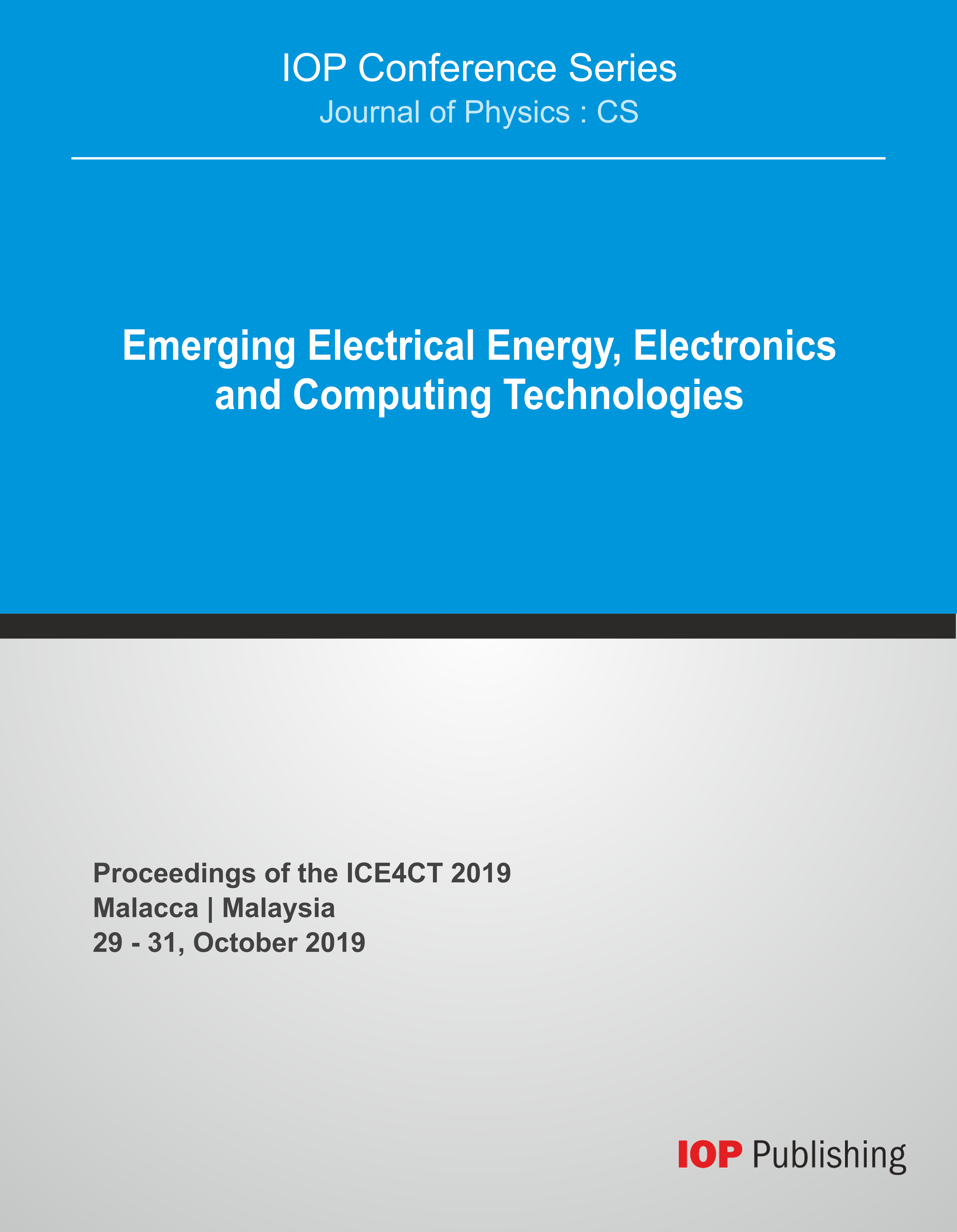 First International Conference on Emerging Electrical Energy